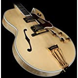 Gibson Custom Shop HSBYFNAGH1 Hollow-Body Electric Guitar, Natural