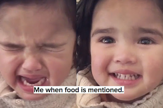 This Toddler Acting Brand New When Food Is Mentioned Is All Of Us