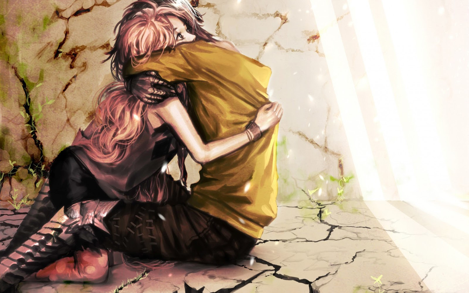 870+ Wallpaper Love Couple Romantic Anime HD Terbaru