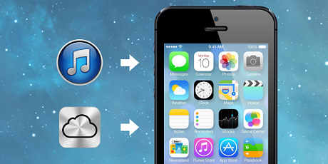 Restore iPhone Data  How to Retore iPhone After Upgrading to iOS 7