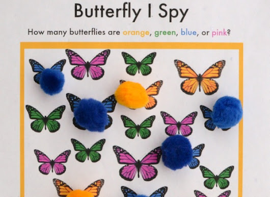 Butterfly I Spy Game - The Pleasantest Thing