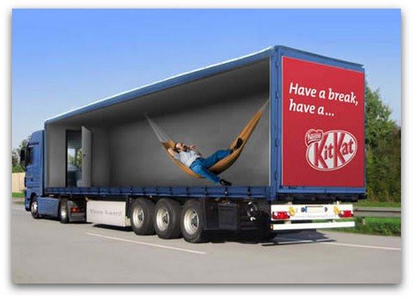 truck ad designs 10 in Funny 3D Truck Ad Designs