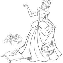 Dibujos Para Colorear La Cenicienta 9 Imagenes Disney De La Cenicienta