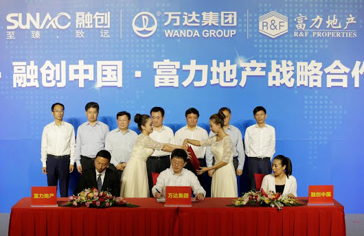Dalian Wanda amends Sunac property deal after China curbs funding