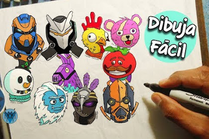 Dibujos De Fortnite Picos Faciles