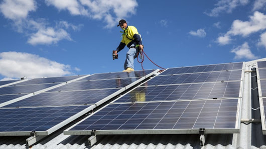Claiming solar panels on a rented property
