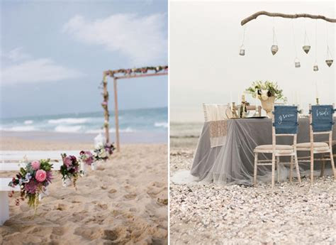 Fabulous Beach Wedding Ideas And Wedding Invitations For