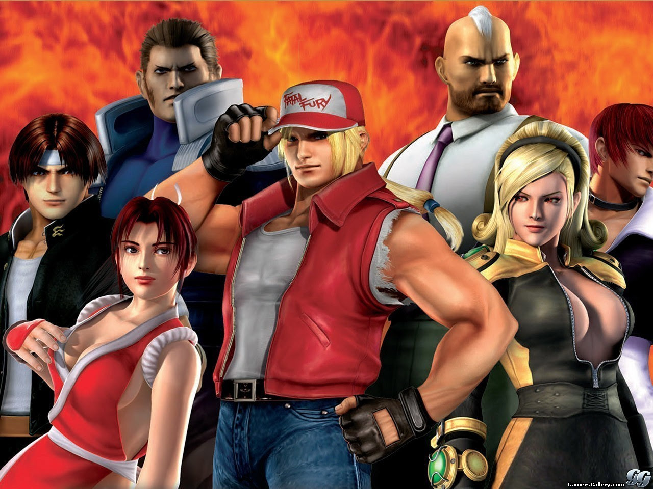 Kof Maximum Impact The King Of Fighters Wallpaper 13463427