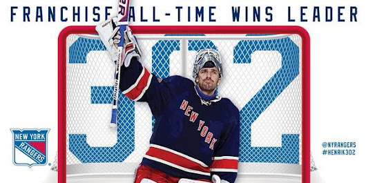 Twitter / NYRangers: #NYR @HLundqvist30 is the new ...