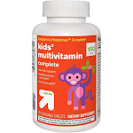 Kids' Complete Multivitamin Chewable Tablets - Orange, Grape & Cherry - 150ct - Up&Up