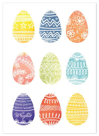 cards - Painted Eggs