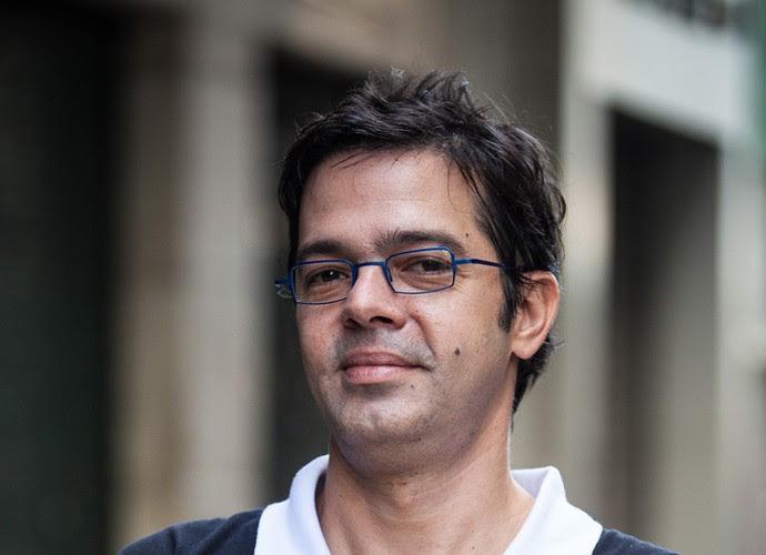 """Bruno Mazzeo, autor de """"Filhos da Pátria. (Crédito: Globo/Caiuá Franco )"""