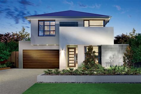 luxurious front yard design  modern house plans