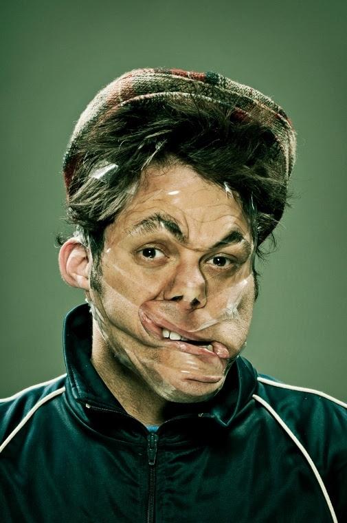 Scotch Tape Series - Wes Naman Photography - Chicquero Laugh Funny - 20
