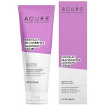Acure Radically Rejuvenating Facial Cleansing Cream - 4 fl oz tube