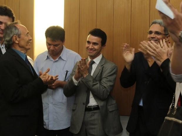 Plácido Barroso Rios é eleito procurador-geral (Foto: MPCE)