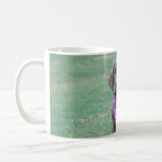 Chocolate Labrador Puppy Mug mug