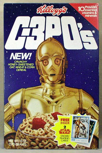 C3PO's Breakfast Cereal