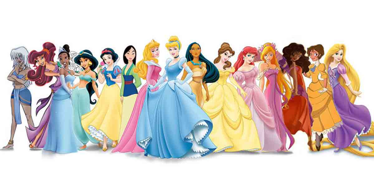 Someone Mixed Disney Princesses With Each Other And It's ...