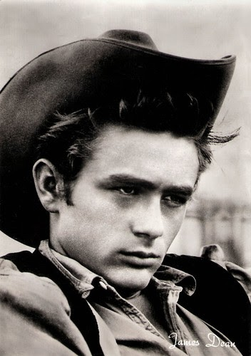 European Film Star Postcards James Dean