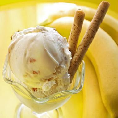 παγωτό-μπανάνα