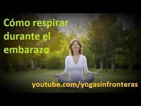 Video: Cómo respirar durante el embarazo.