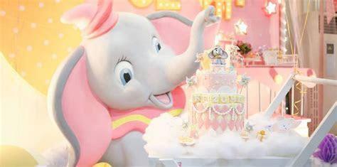 Kara's Party Ideas Girly Circus   Dumbo Birthday Party