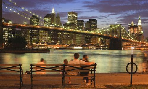 Casal em Nova York