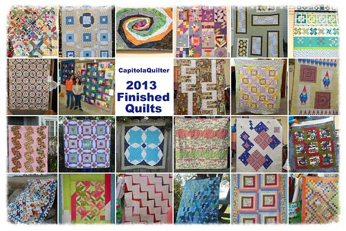 2013 Finished Quilts by capitolaquilter