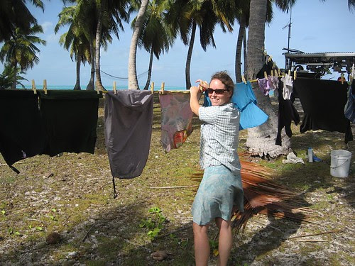 washer woman Cocos