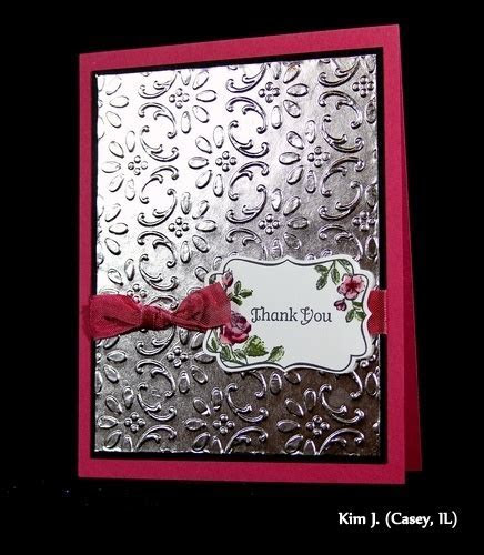 1000  images about Handmade Cards   Dry Embossed on