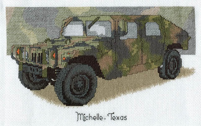 Arthemise S Mostly Stitching Blog Military Hummer Hd