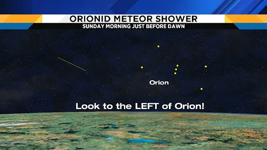 Tonight is the Orionid Meteor Shower