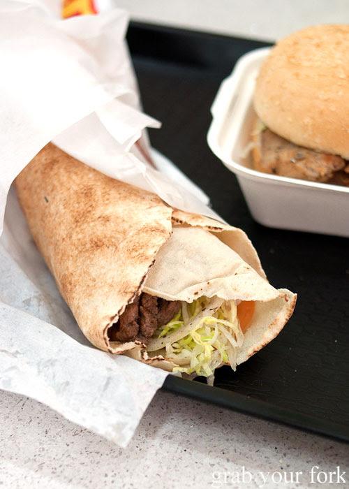Camel shawarma