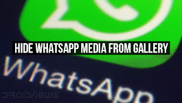 Hide WhatsApp Media from Gallery on Android with WhatsApp Beta
