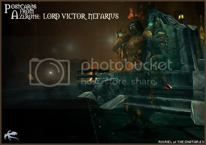 Postcards of Azeroth: Lord Victor Nefarius, by Rioriel Ail'thera of theshatar.eu