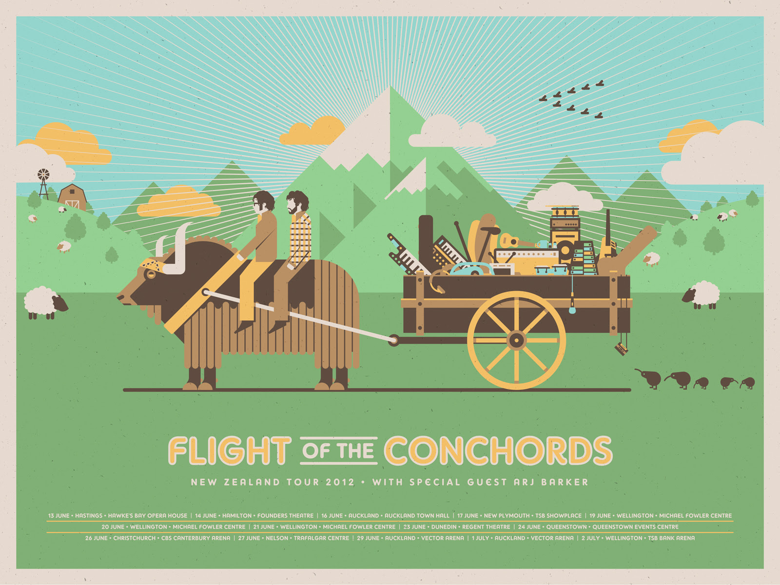 Flight Of The Conchords News Dkng