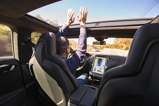 Testing (Semi) Autonomous Cars With Tesla, Cadillac, Hyundai, and Mercedes - Motor Trend