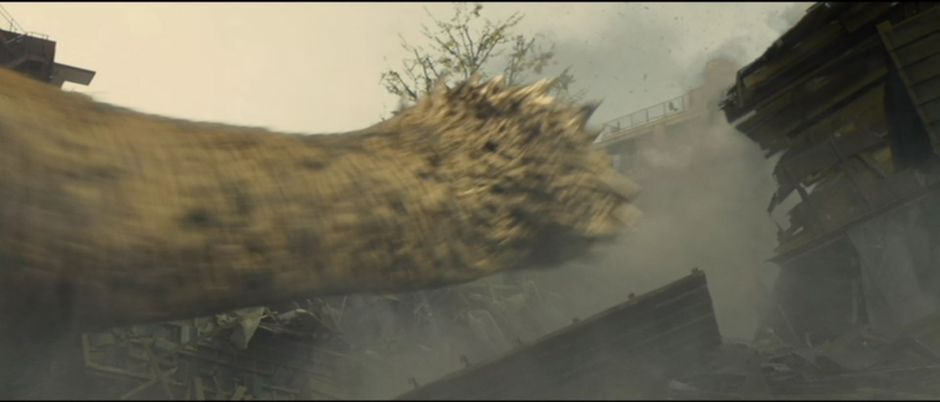 Godzilla's Ghidorah-like tail