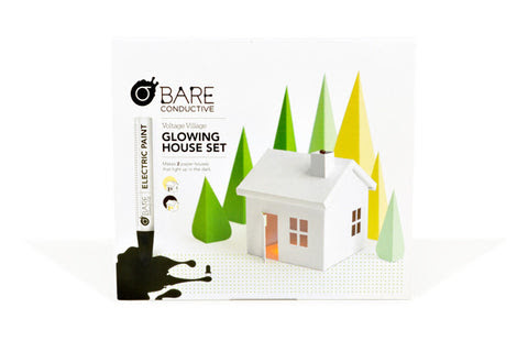 Voltage Village Glowing House Set