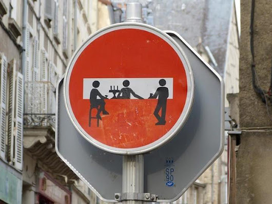 Brilliant street artist modifies road signs giving them a whole new meaning