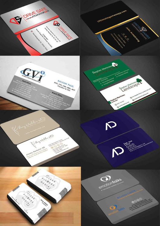 I will create your business card