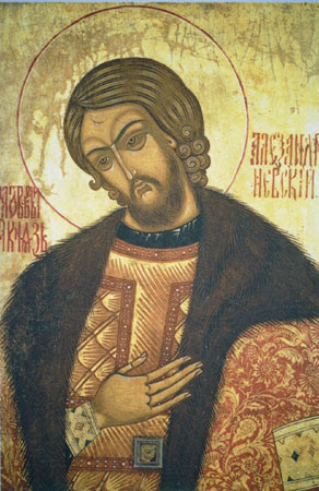 ST. ALEXANDER NEVSKY, the Pious and Great Prince