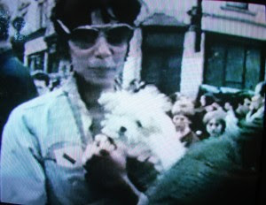 Donyale Luna with her terrier