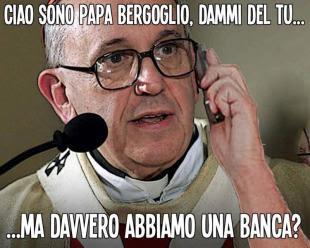 papa bergoglio telefona alla gente
