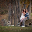 Engagement Photographs from Warwick Town Park
