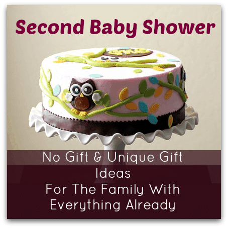 baby shower for second baby no gift unique gift ideas trimester