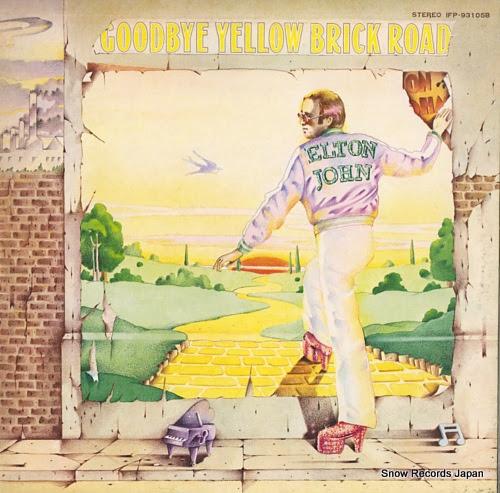 JOHN, ELTON goodbye yellow brick road