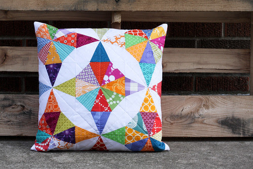 Kaleidoscope Pillow by jenib320