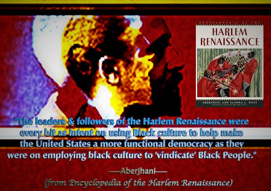 A quote from Encyclopedia of the Harlem Renaissance
